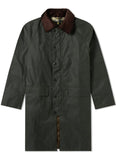 Barbour New Burghley Verde Giubbotto