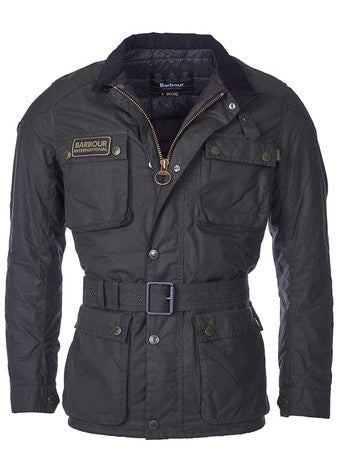 Barbour Giubbotto International Blackwell Wax Steve McQueen