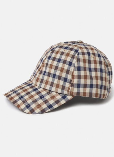 Aquascutum of London Cappello Visiera Club Check