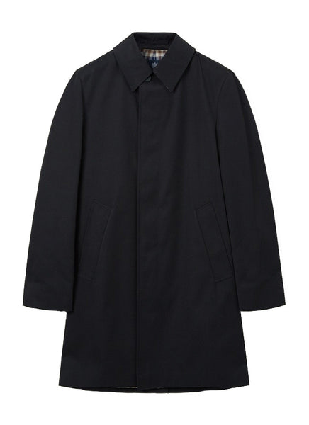 Aquascutum of London Trench Broadgate Black