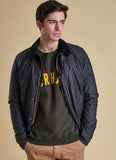 Barbour Reelin Navy Giubbotto