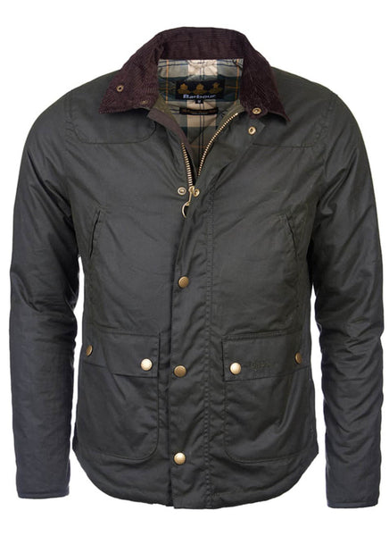 Barbour Reelin Verde Giubbotto