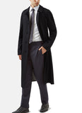 Aquascutum of London Trench Filey Blu Scuro