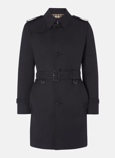Aquascutum of London Trench Corby Navy