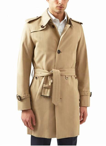 Aquascutum of London Trench Corby Camel