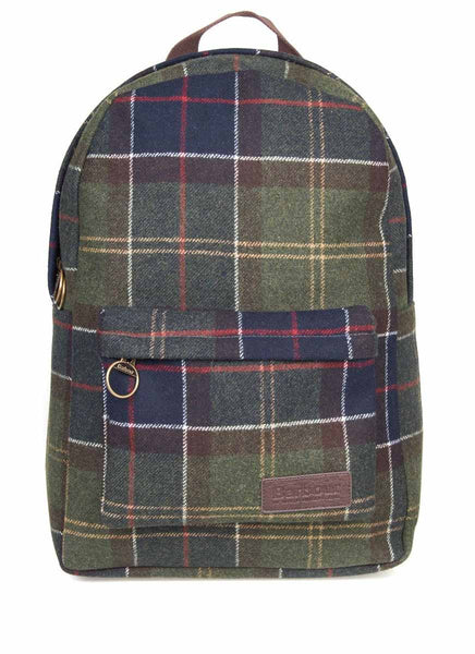 Barbour Zaino Cambridge in Lana Tartan