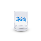 Kentucky Script Rocks Glass