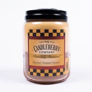 Candleberry Bourbon Roasted Pecans Candle