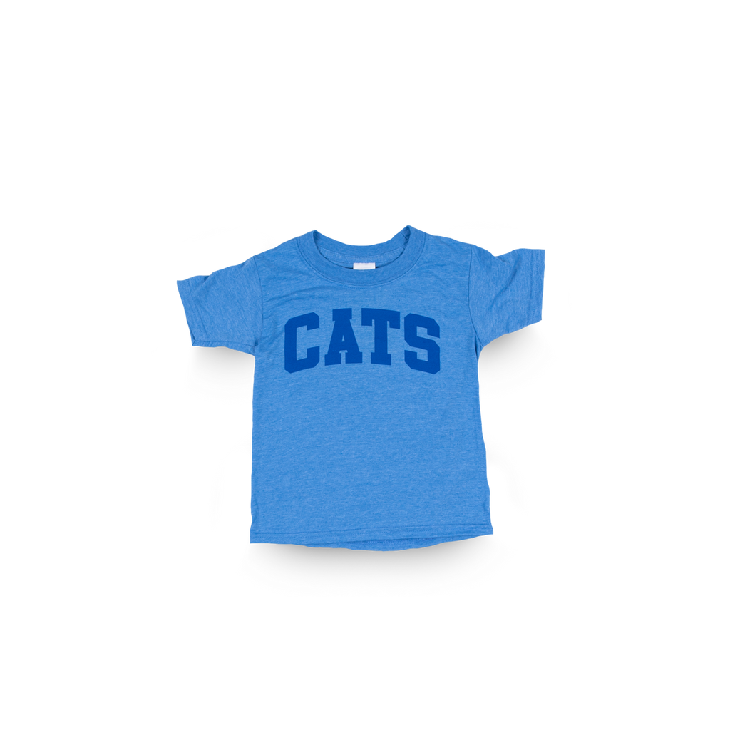 Cats Toddler Heather Royal