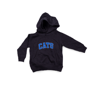 Tall Cats Toddler Hood Black