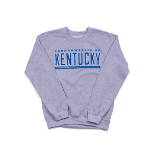 Commonwealth Kentucky Crew Sport Grey