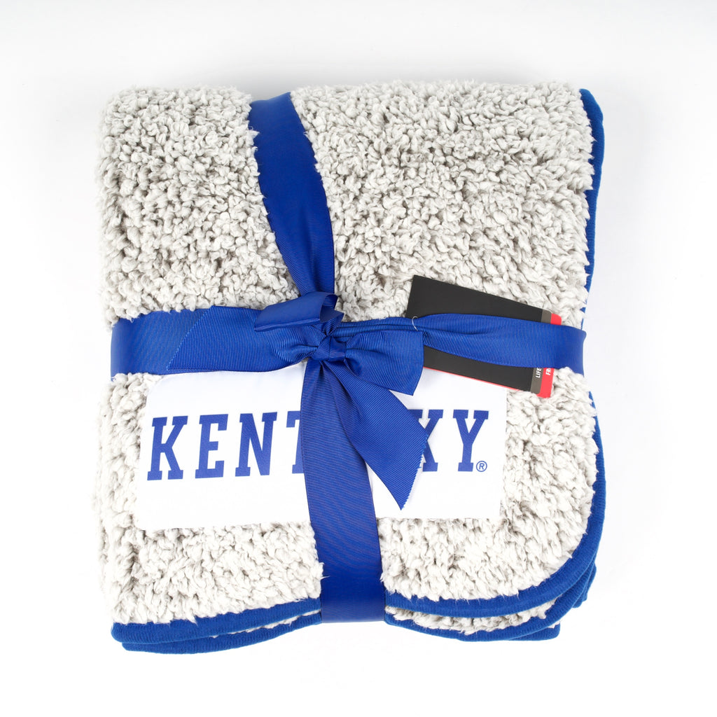 UK Frosty Fleece Throw