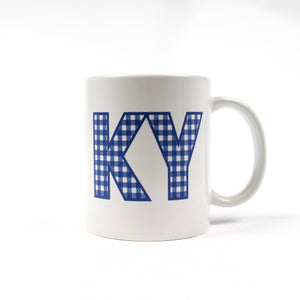 Plaid KY Mug