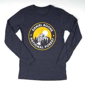 DBNF Long Sleeve Heather Navy