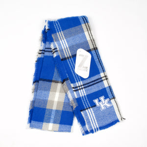 UK Plaid Blanket Scarf