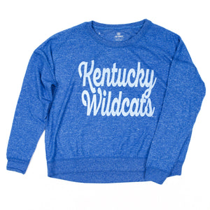 UK Vintage Wildcat Cropped Sweatshirt