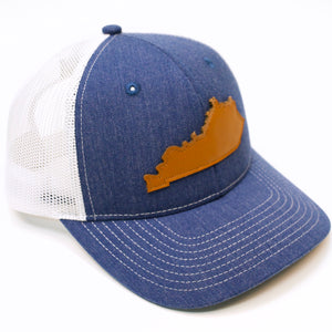 State 2 Tone Mesh Royal Hat