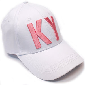 KY Pink & White Hat