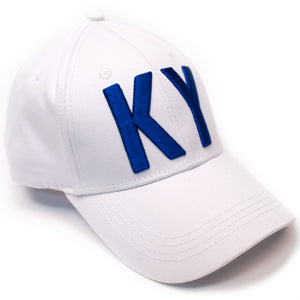 KY White & Blue Hat