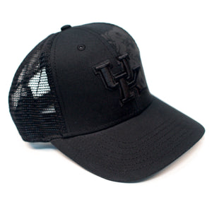 UK Youth Pop Black Snap Hat
