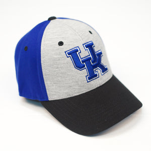UK Bring It Grey/Royal One Fit Hat (L/XL)