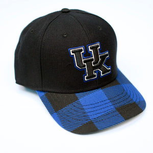 UK Buff N Stuff Black Snap Hat