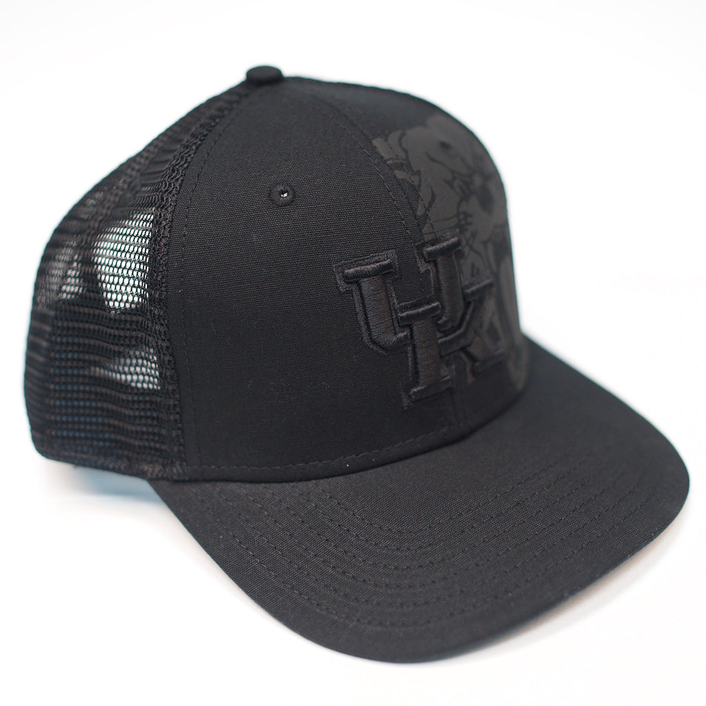UK Pop Black Snap Hat