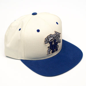 UK Paramount White/Royal Snap Hat