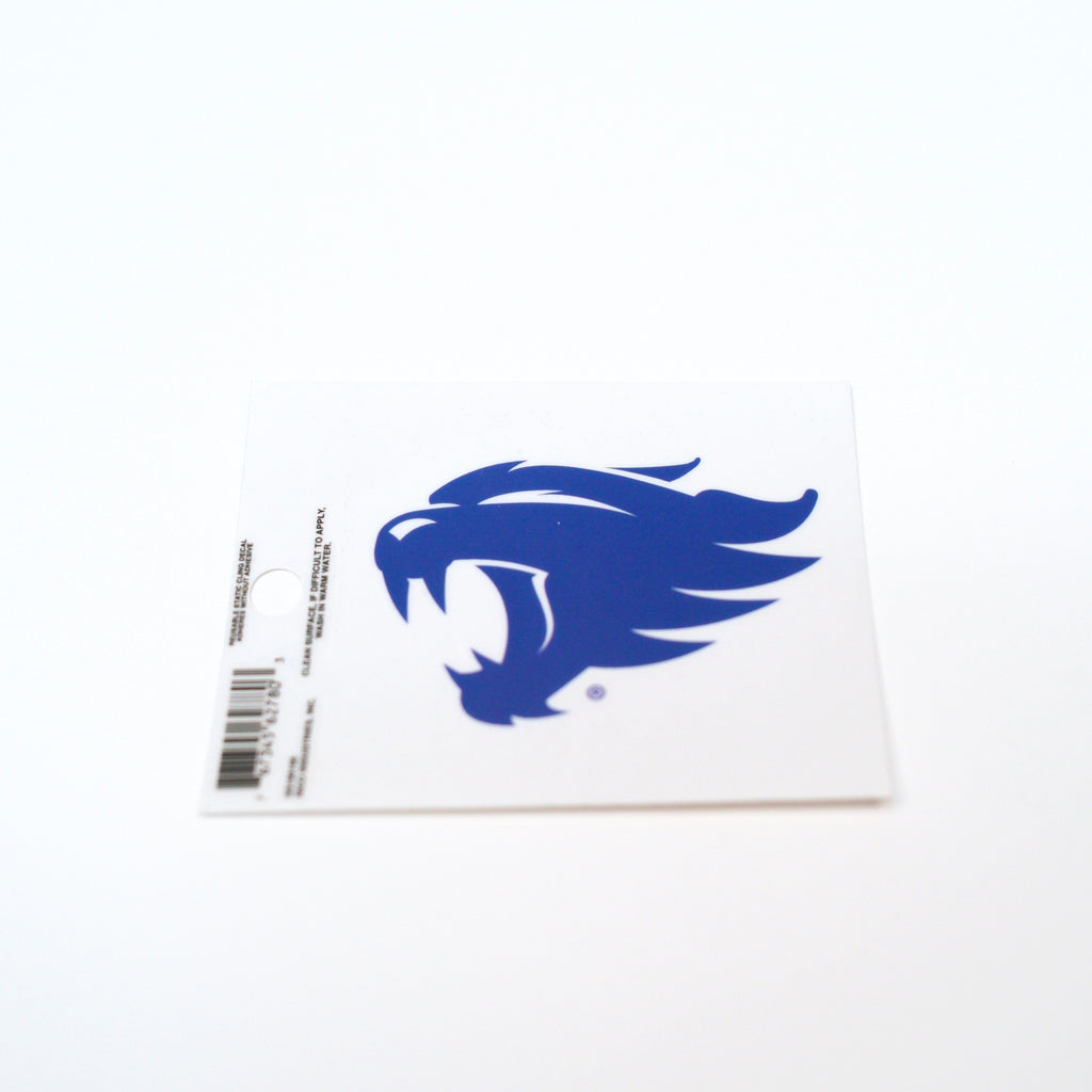 UK Wildcats Small Static Decal Rico