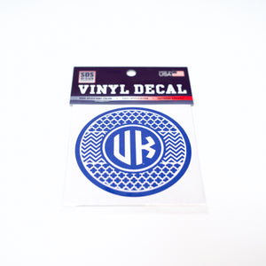 UK 3 inch Circle Decal
