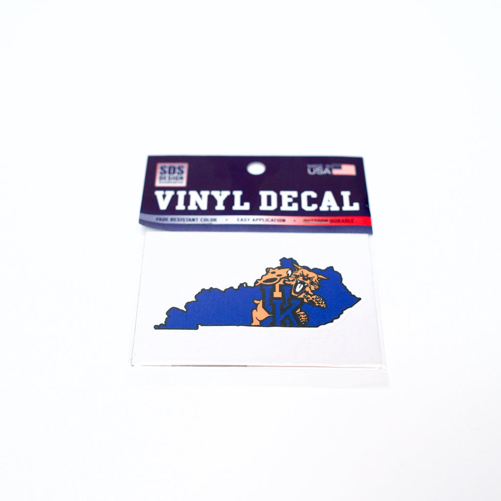 UK 3 inch Wildcat State Decal
