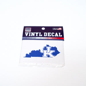 UK 3 inch Interlock State Decal