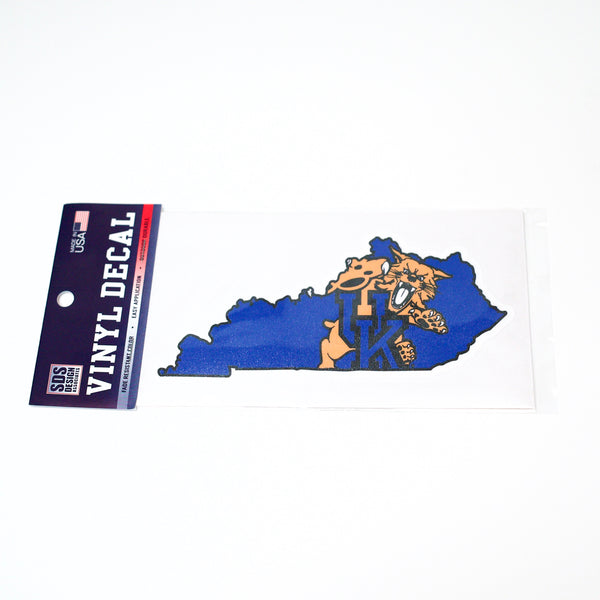 UK 6 inch Wildcat State Decal