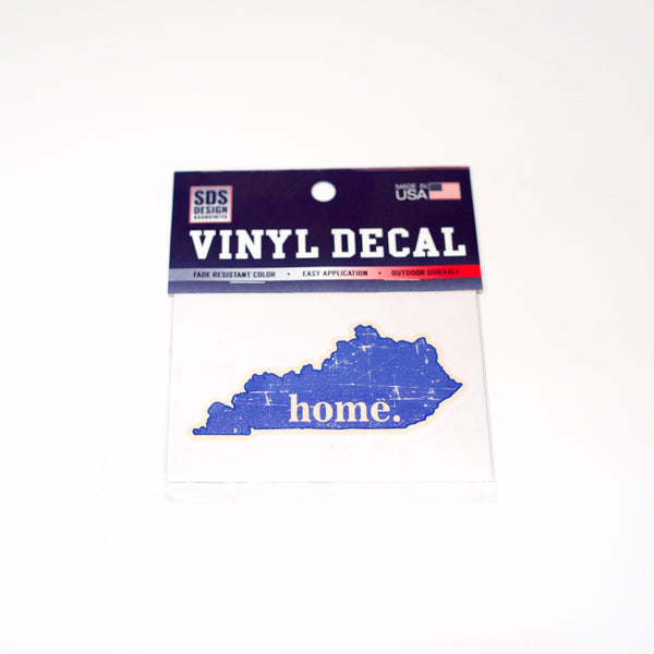 Home State 3 inch Vinyl Decal