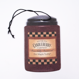 Candleberry Hot Maple Toddy Car-Go