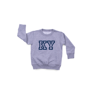 Block KY Toddler Crew Grey