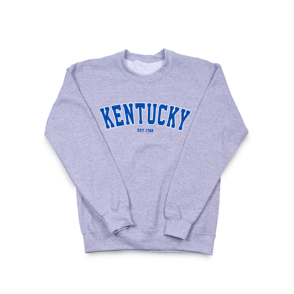 Kentucky Arch Crew Sport Grey
