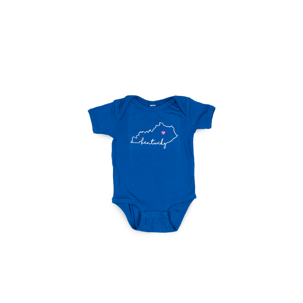 Kentucky Love Royal Onesie
