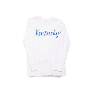 Script Kentucky Heart LS White