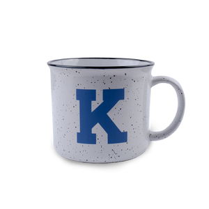 Power K White Campfire Mug