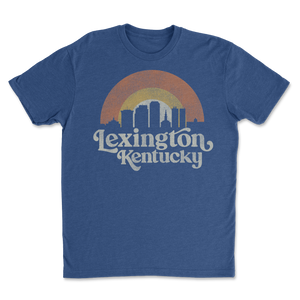 Lex Retro Skyline Blue