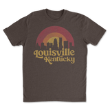 Lou Retro Skyline Brown