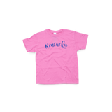 Kentucky Youth Script Pink