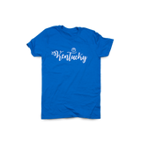 Kentucky Script Basketball Royal
