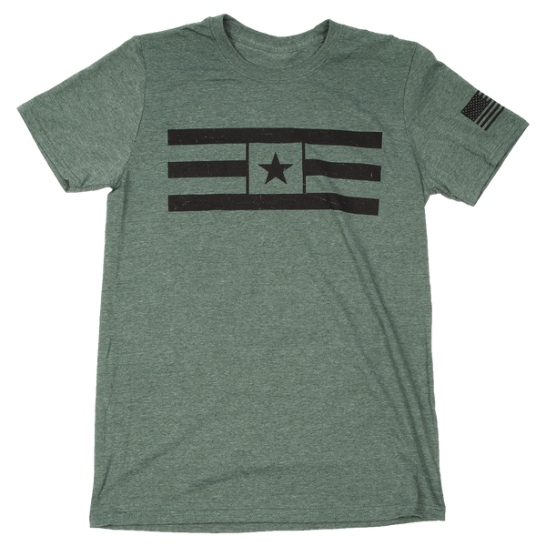 VN Star Stripes Forest Green