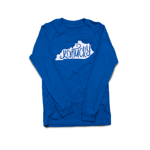 Swirl State Long Sleeve Royal