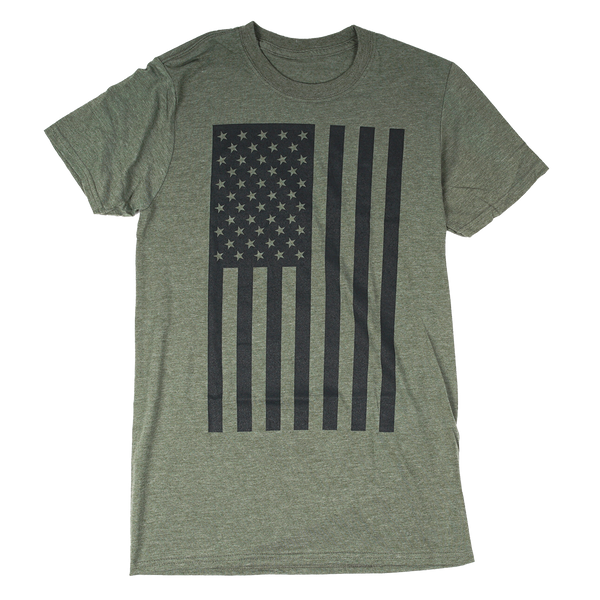 Tall Flag Military Green