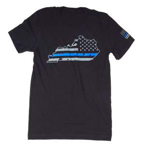 Police KY State Black Heather