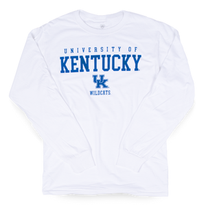 UK University Long Sleeve White