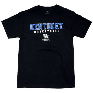 UK Kentucky Basketball Black
